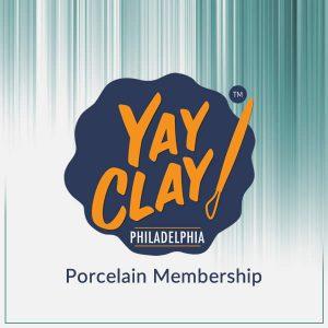 Yay Clay! Porcelain Membership